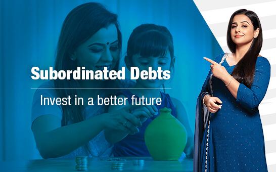 Subordinated Debts
